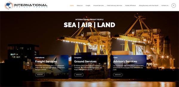 International Freight People - New website and email addresses 1