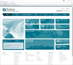New website for Setoa Italia 1