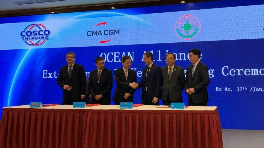 Ocean Alliance cooperation extended until 2027 1