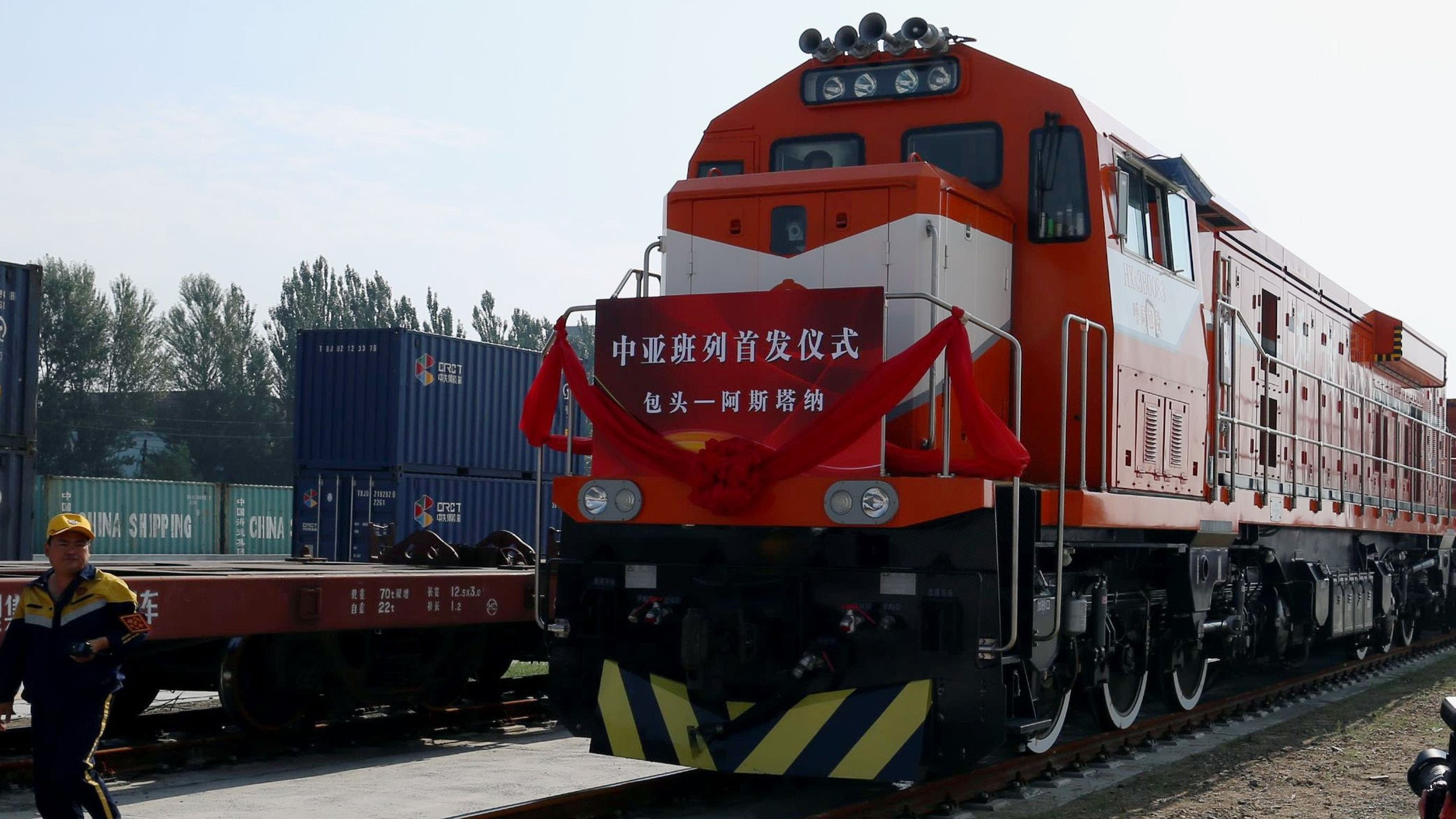 New train shuttle launched on Silk Road 1