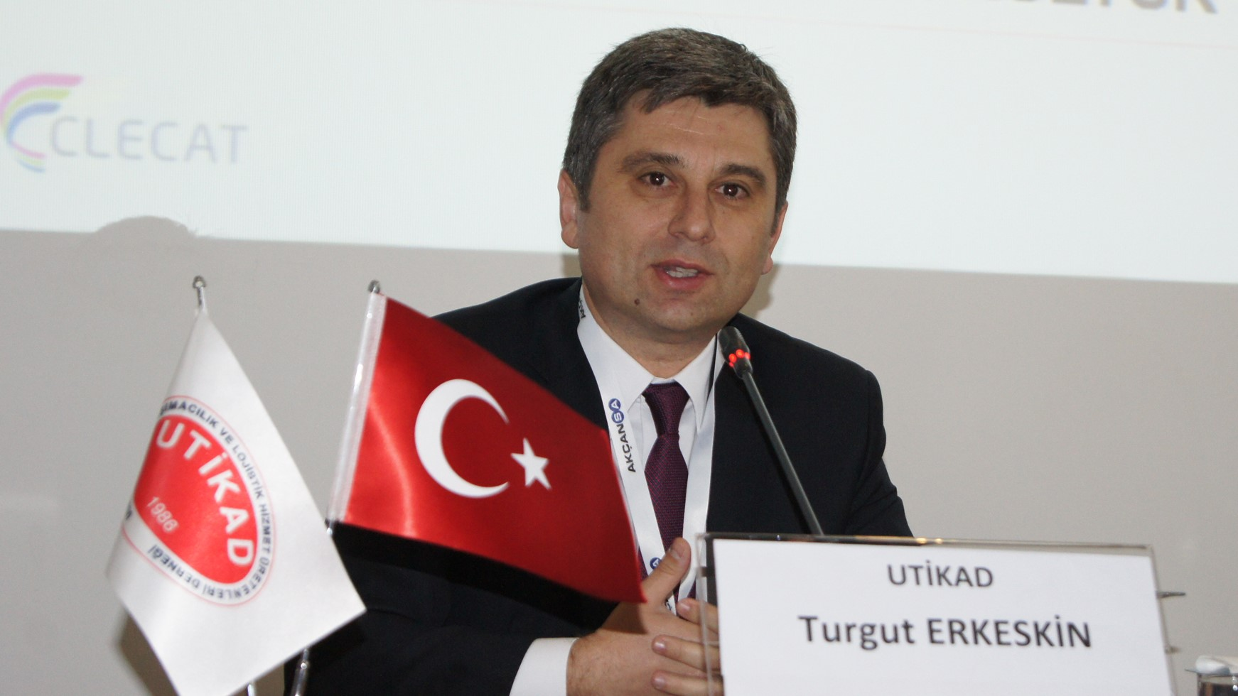 Turgut Erkseskin, Genel Transport Turkey interviewed by World Cargo Vision 1