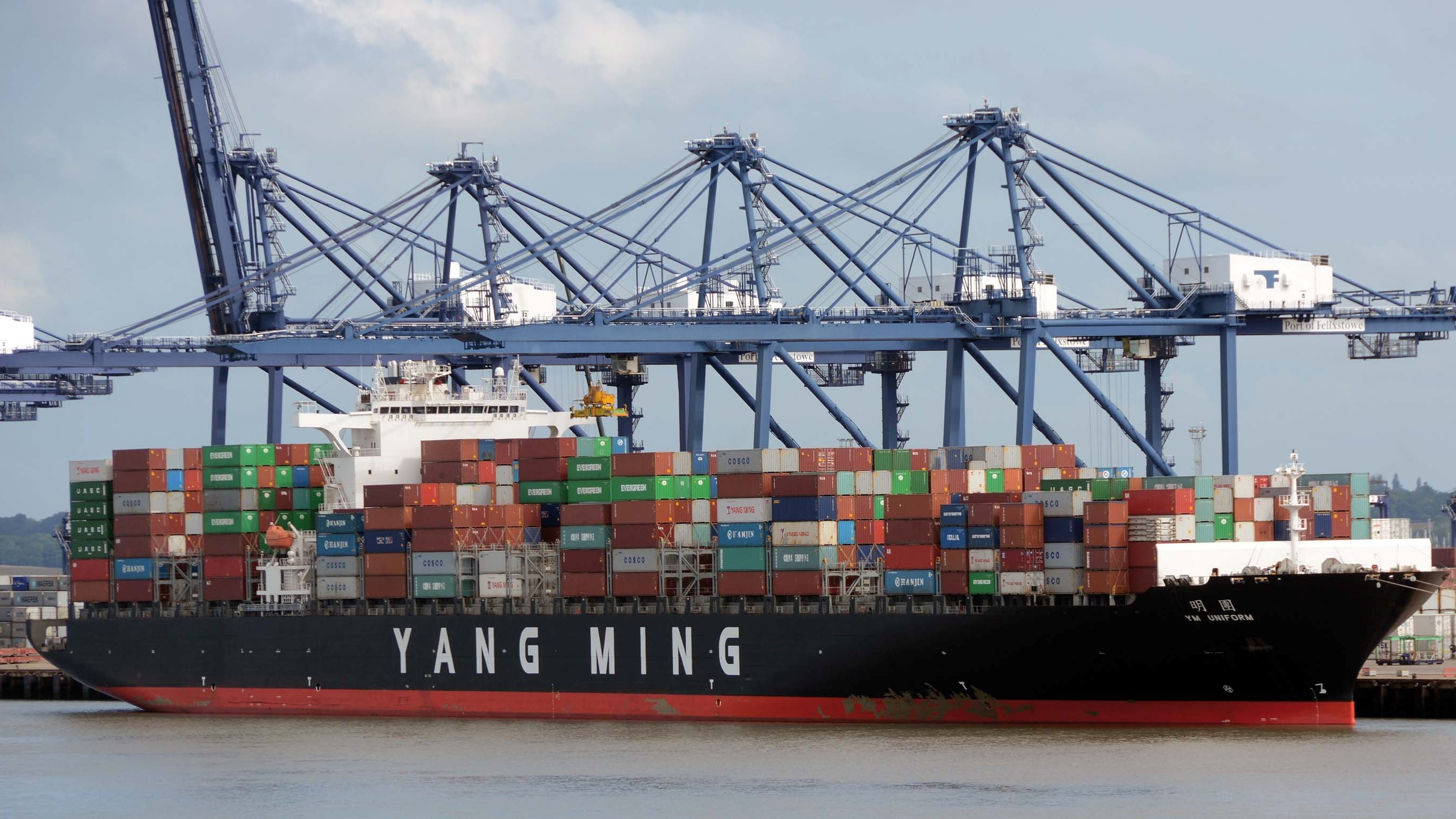 Yang Ming launching another two 14.000 TEU container ships 1