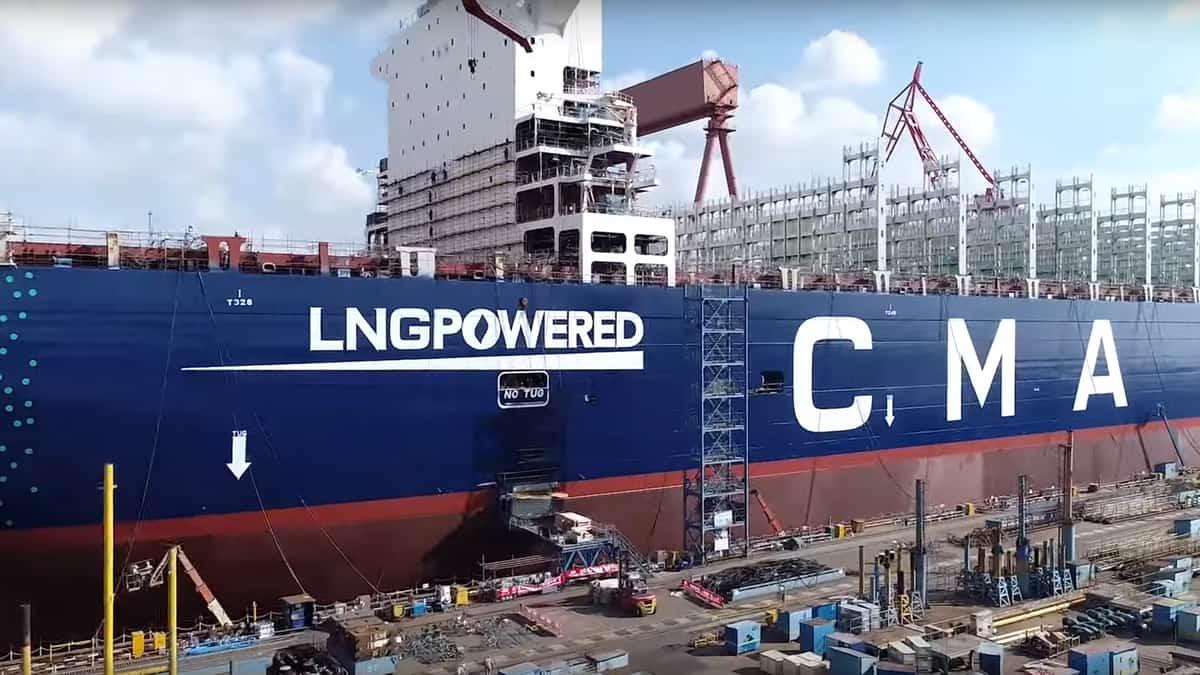 CMA CGM incorporates fourth LNG ship 1