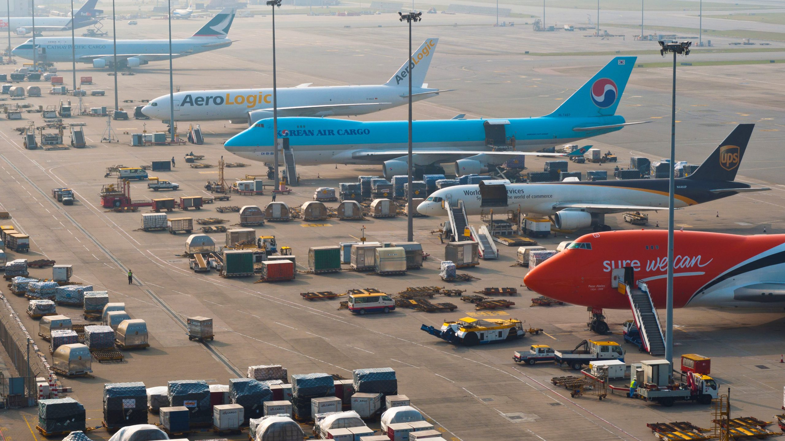 Hong Kong air cargo drops 6.1% in 2019 1