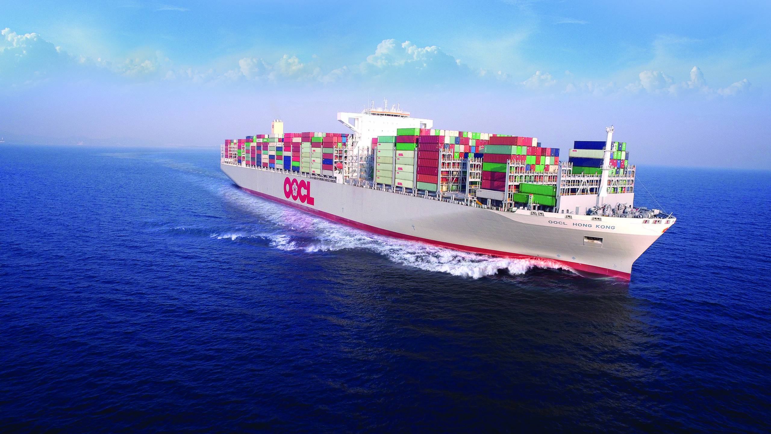 Orient Overseas Container Line reports figures for Q4 1