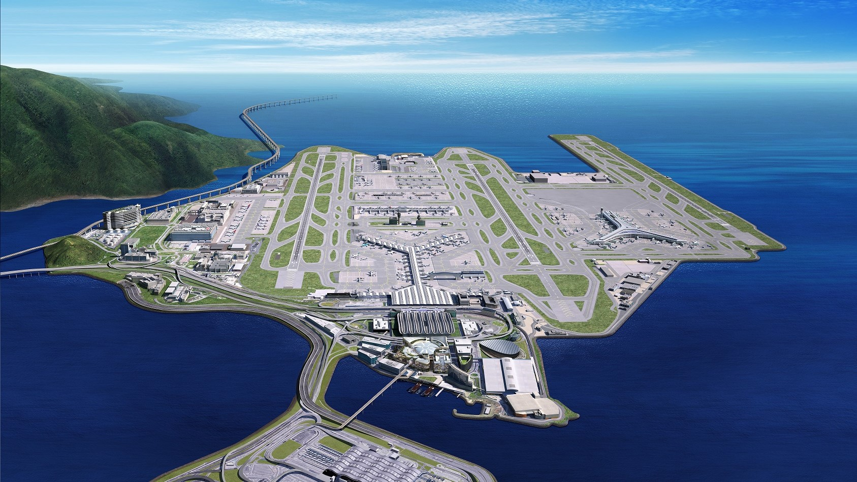 Hong Kong spends US$ 642m on air mail center redevelopment 1