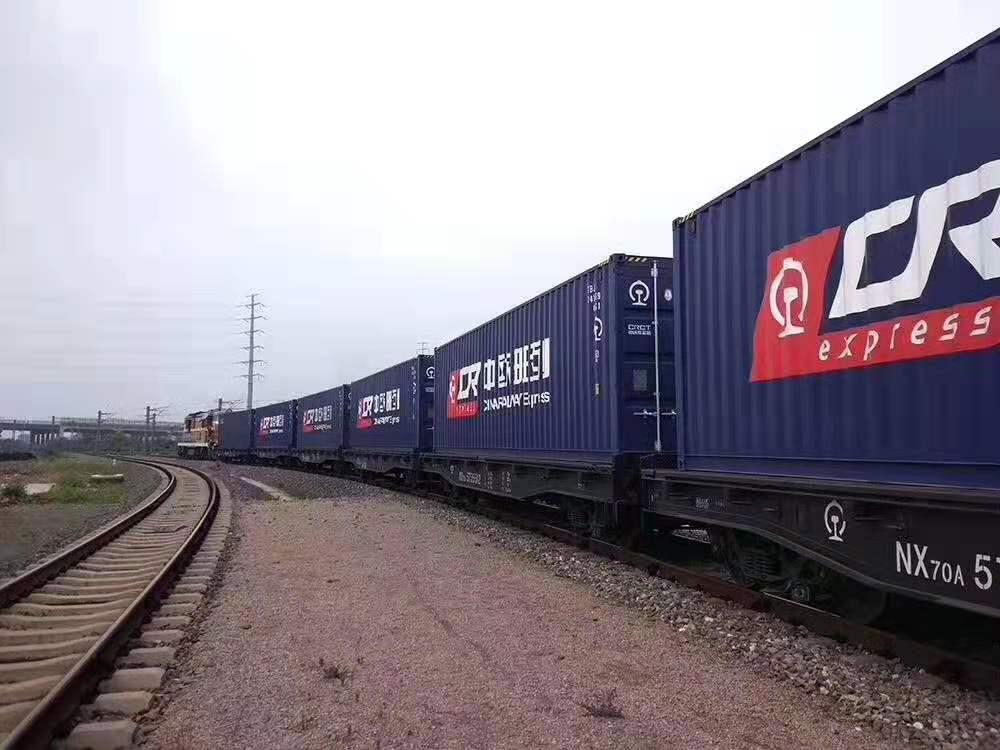 China-Europe railway moves 52.500 TEU during May 1