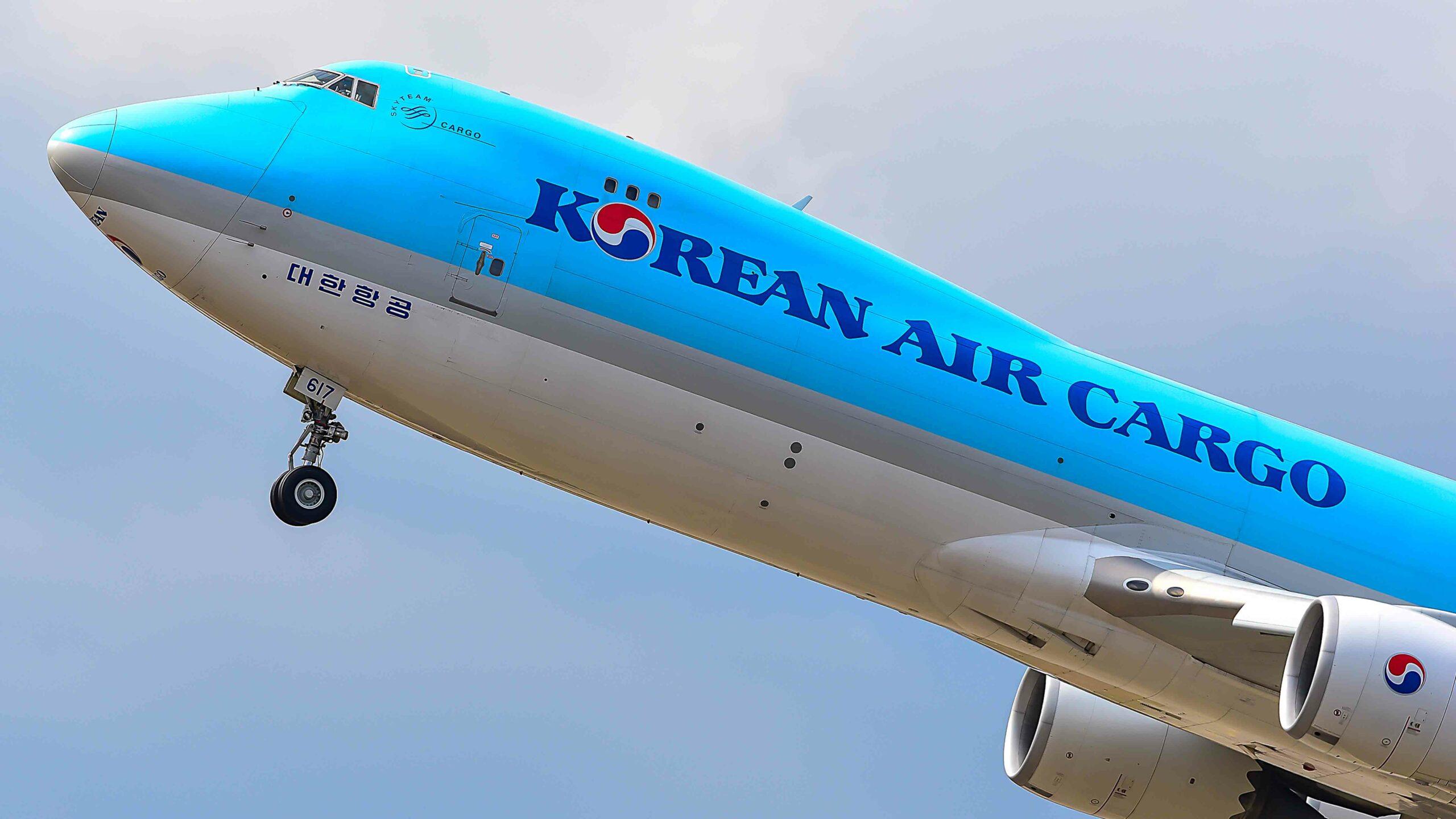 Korean Air into black figures thanks to cargo traffic 1