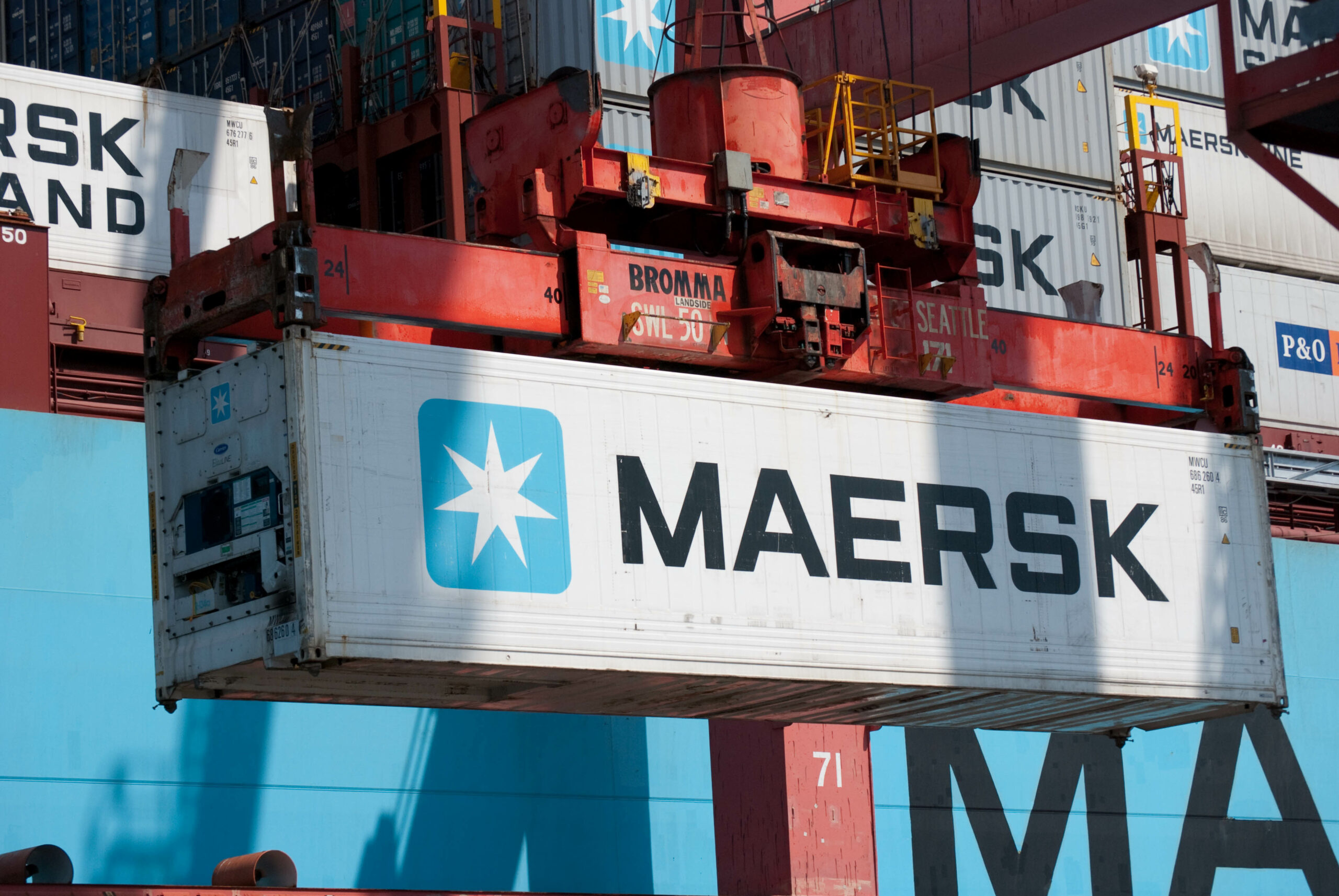 A.P. Moller-Maersk sets strong performance in Q2 1