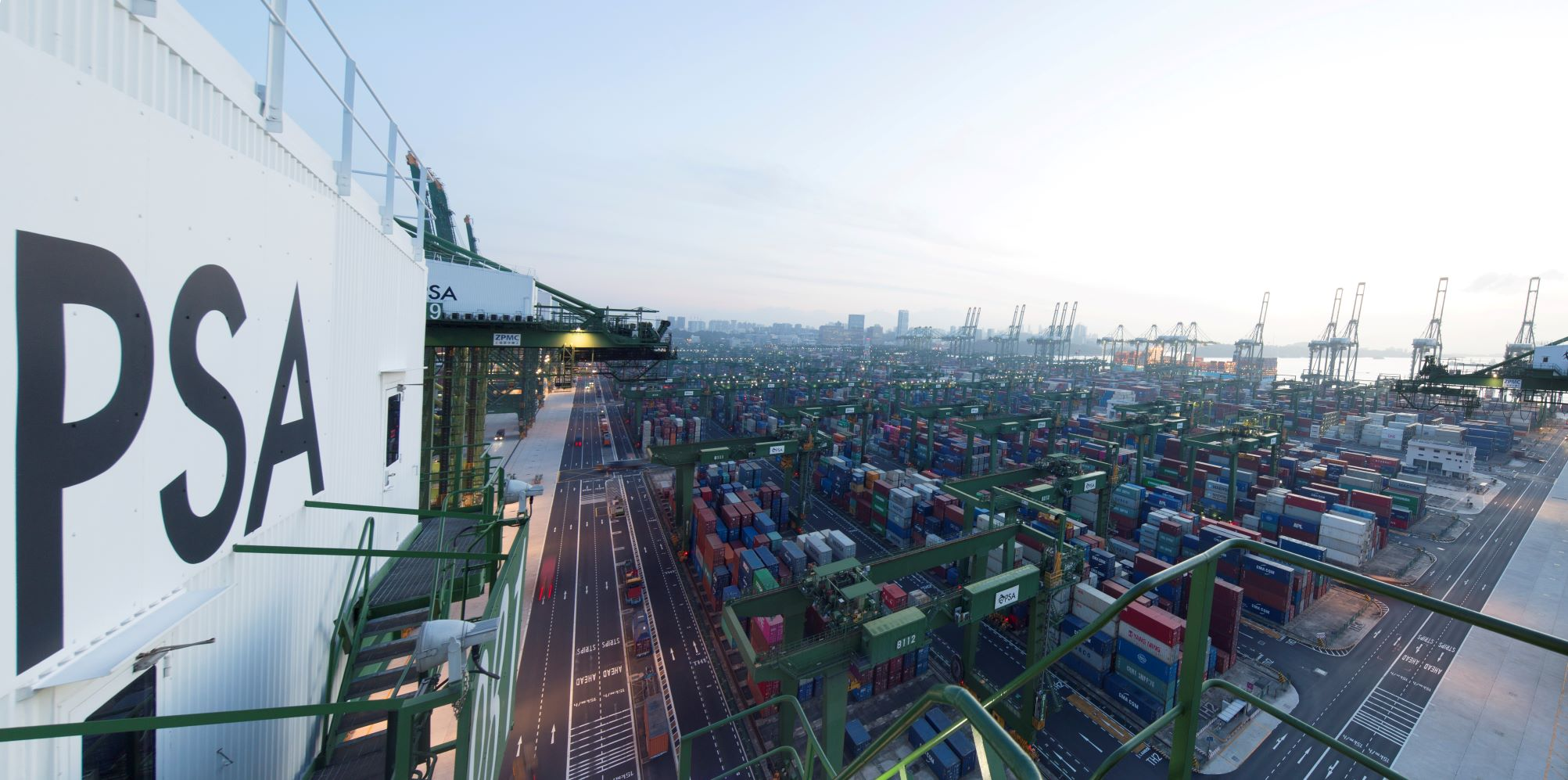 PSA & HMM join forces in Singapore for container terminal operations 1