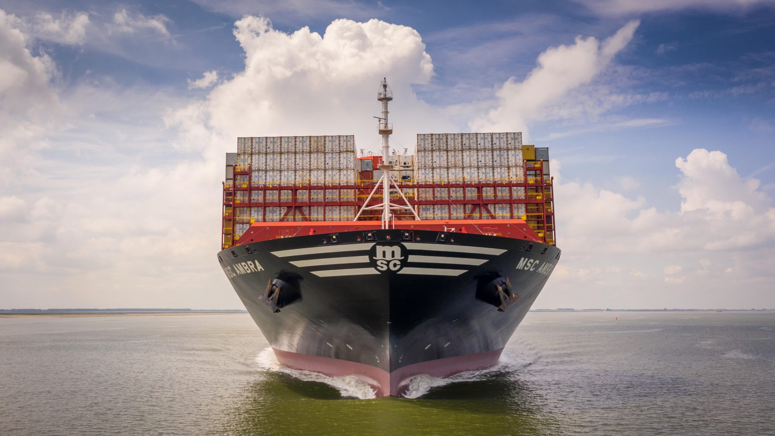 MSC targets #1 ranking as global container carrier 1