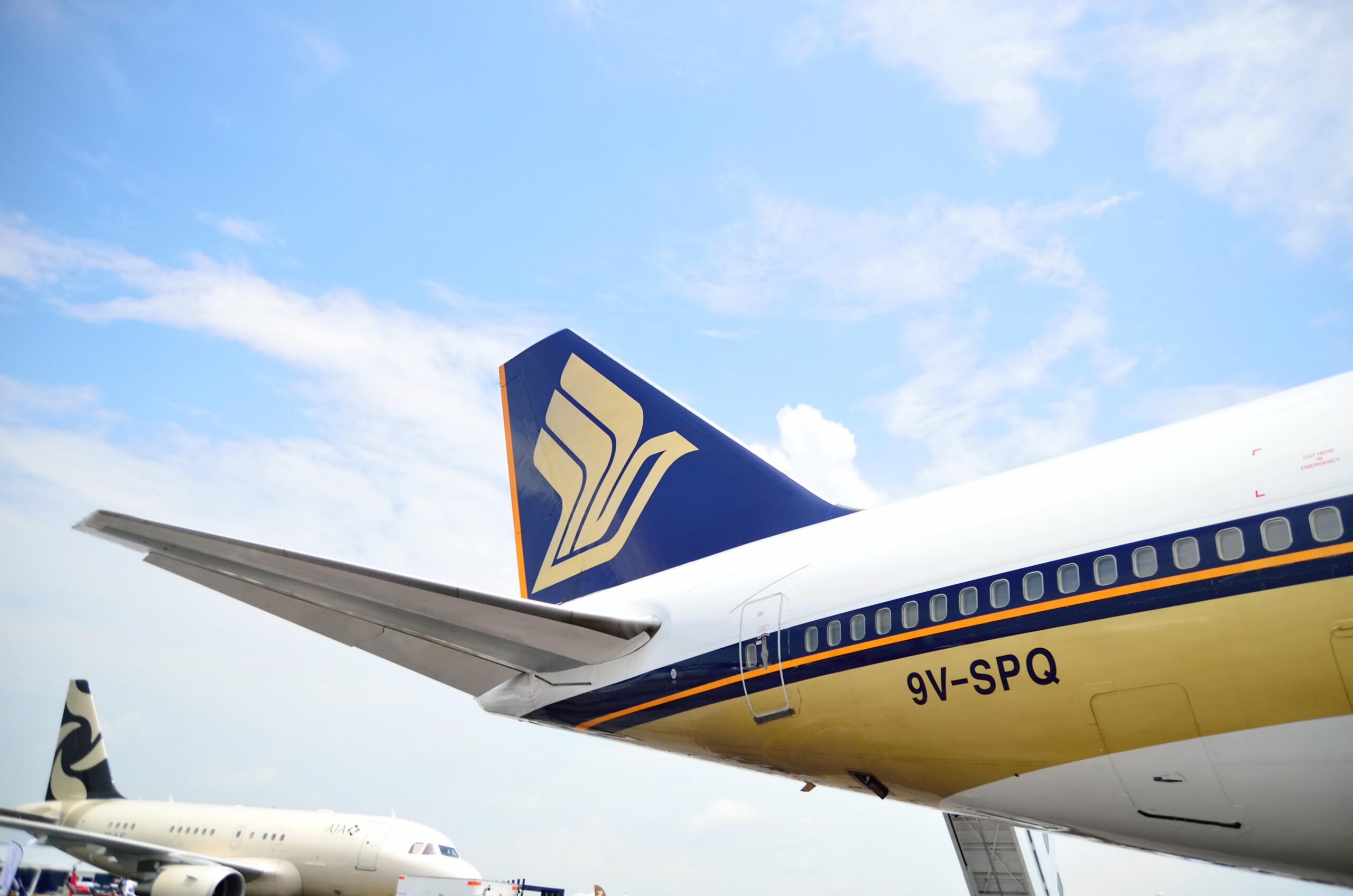 Singapore Airlines reports historical record loss 1