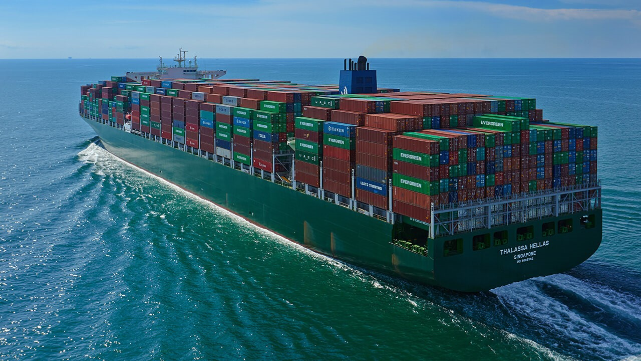 Evergeen plans new giant vessels order 1