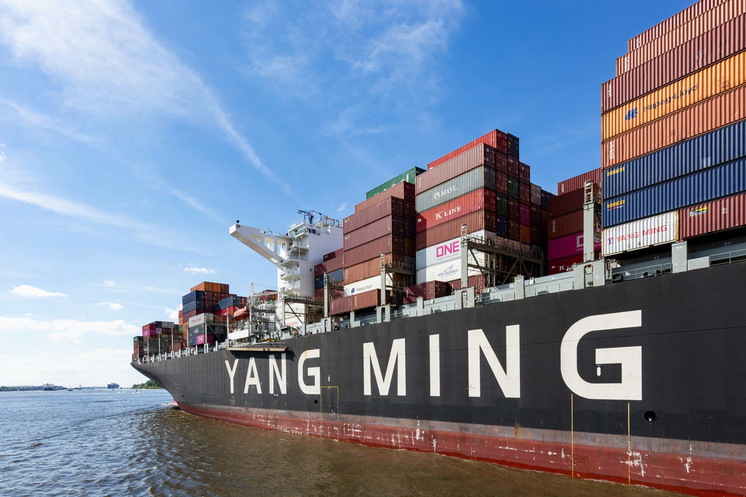Yang Ming, the next container carrier to report impressive profits