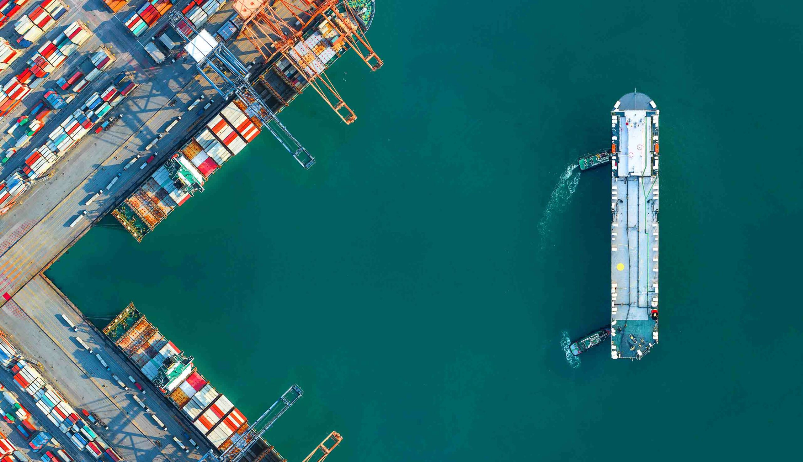 Congestion is spreading worldwide Atlas Logistic network