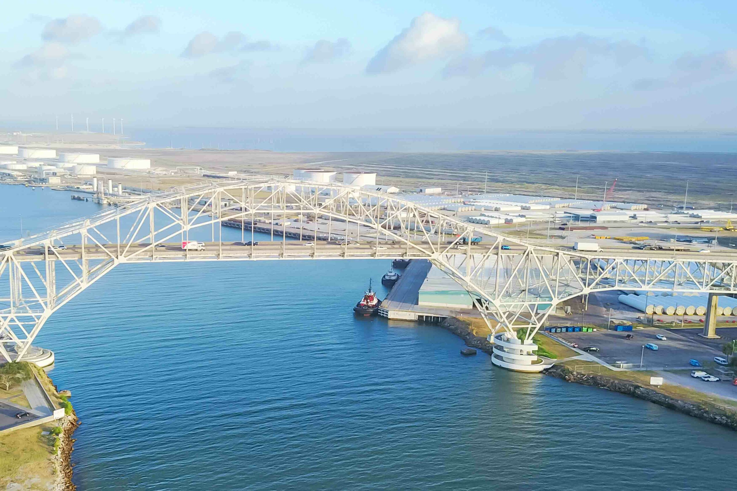 US Port of Christi is aiming to be a large scale carbon hub Atlas Logistic NEtwork